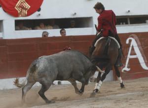 Disparate superó las dificultades del manso de Cuco Peña.