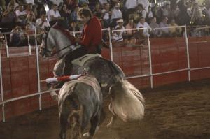 Hermoso de Mendoza encauzó su triunfo grande con el buen hacer de Manolete.