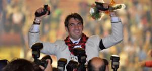 Roberto Armendáriz intentará repetir el triunfo logrado en octubre del añoa pasado en Zaragoza.