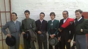 José Ignacio Ramos, Morenito de Aranda, Mariano Jiménez, Javier Marín, David Luquillano y Sergio Marín.