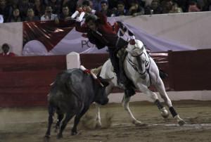 Como el año pasado, Pablo Hermoso de Mendoza volvió a triunfar en Durango.