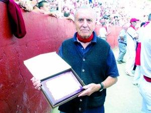 Rubito de Viana recibió un homenaje hace seis años en Estella.