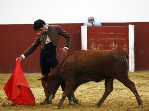 Javier Antón se está preparando a fondo en el campo.