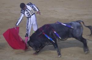La ganadería Los Maños triunfó en Peralta el año pasado.