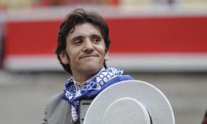 Diego Ventura cortó una oreja en su única actuación en Bilbao, en 2011.
