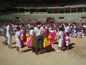 La plaza de Tudela cobrará un aspecto similar al de Pamplona con la clase de El Juli del año pasado.