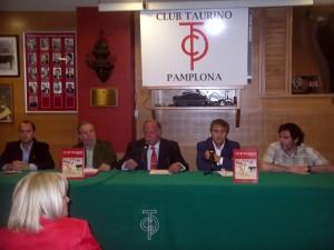 De izda. a dcha., Patxi Arrizabalaga, José María Sevilla, Juan Ignacio Ganuza, José Luis Ramón y Alfredo González..