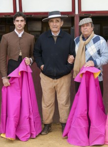 Javier Antón, Ricardo Gallardo y Pepe Teruel.