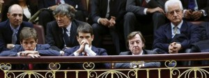 Toreros en el Congreso de Diputados