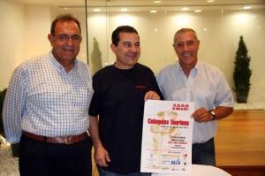 Agustín Albo, Miguel Ángel Garijo y Jesús González en la presentación de los coloquios taurinos del año pasado.