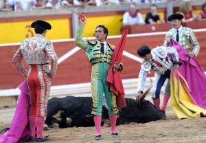 Alberto Aguillar estuvo mal con el estoque.