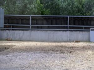 El corral donde permanecían los toros de Cebada Gago ya estaba vacío a media mañana.
