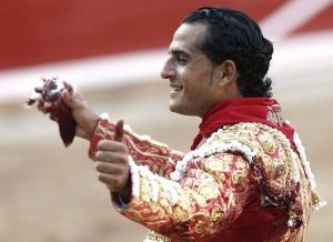 Fandiño, triunfador de la Feria del Toro de Pamplona.