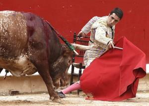 A Javier Castaño se le agudizó su lesión en una mano el pasado 14 de julio en Pamplona.