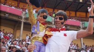 Juan José Padilla ha vuelto a conquistar Pamplona; esta vez a miles de niños.