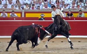 Armendáriz ha conseguido el Premio Ciudadela al mejor torero a caballo.
