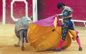 Francisco Expósito recibió al primero con unas verónicas bañadas en gusto. Fotografía: Vauqero.