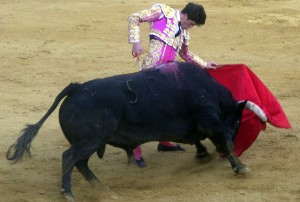 Daniel Luque ya toreó este año en la plaza de Tudela.