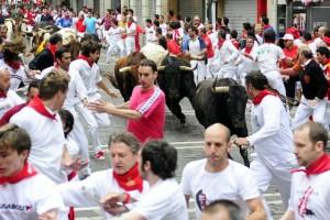 El Peta sigue trabajando contra el encierro de Pamplona.