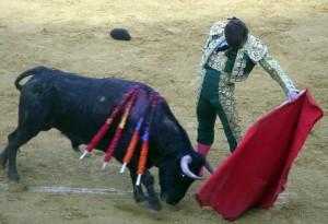 Natural de Javier Marín a un humillado utrero de Santafé Martón.