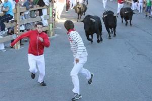 Los toros de Los Recitales protagonizaron el encierro más largo de lo que va de feistas.