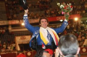 Hermoso triunfó en enero en la venezolana plaza de San Cristóbal.