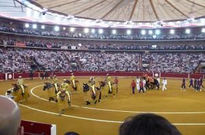 Hoy se llevará a cabo en la plaza de Zaragoza el primer paseíllo de la Feria de El Pilar.