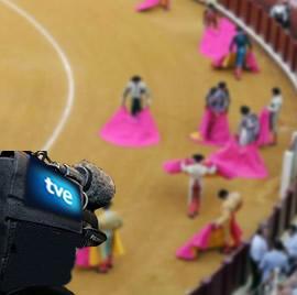 Pese al apoyo a los toros, durante el gobierno del PP sólo se ha retransmitido por TVE dos corridas de toros.