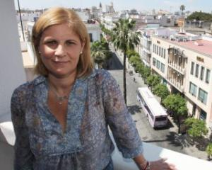 La alcaldesa de Jerez, María José García-Pelayo.