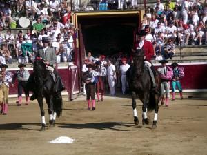 Armendáriz y Hermoso de Mendoza, dos rejoneadores navarros para la historia del toreo a caballo.