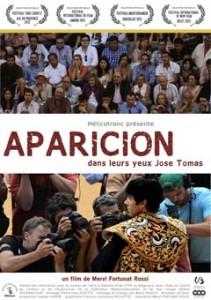 Portada del cortometraje Aparición.