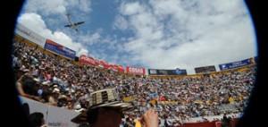 La feria no podrá celebrarse en la plaza de Quito porque persiste la prohibición.
