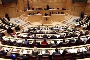 Una sesión del Senado.