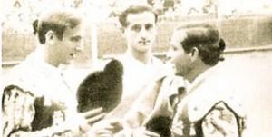 Blázquez, el día de su alternativa en Barcelona.