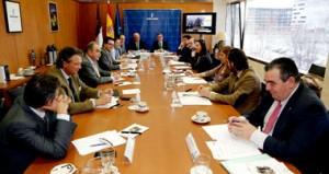 Un momento de la reunión de la Comisión Ejecutiva de la Comisión Nacional de Asuntos Taurinos.