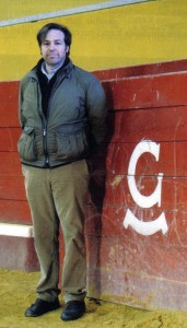 Justo Hernández, ganadero de Garcigrande. Fotografía: 6T6.