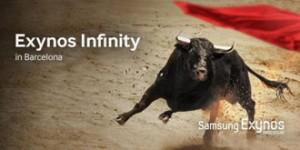 La imagen publicitaria de Samsung.