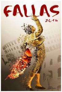 Cartel de la Feria de Fallas 2014.