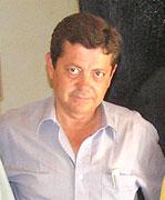 El ganadero Luis Frías.