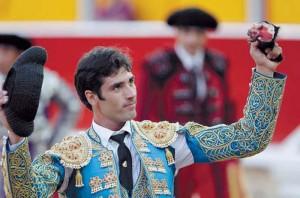 Javier Antón cortó una oreja el año pasado en Pamplona, cuando todoavía era novillero.