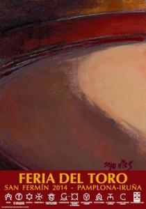 El cartel anunciador de la próxima Feria del Toro.