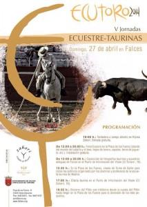 Cartel de Ecutoro 2014, con la programación de los actos.