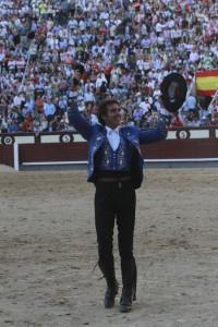 Hermoso de Mendoza cortó el año pasado una oreja en Las Ventas.