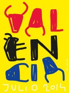 El cartel de Mikel Urmeneta.