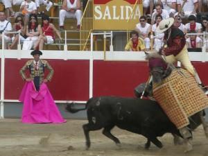 Imagen de la última feria de Castejón, celebrada en 2009.