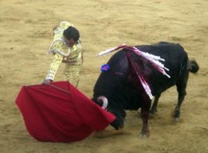 Iván Fandiño repite en la Feria de Tudela como triunfador del año pasado.
