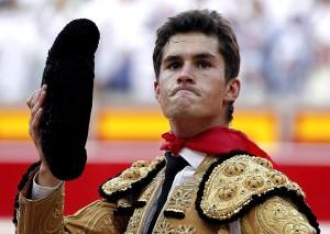 Daniel Luque consiguió una oreja en Pamplona hace dos años.