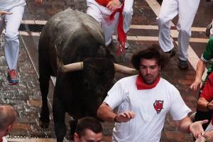 Los de Adolfo Martín han permitido protagonizar bonitas carreras. Fotografía: Jacobo Silvestre.