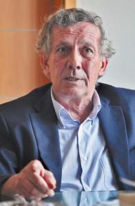 José María Marco, presidente de la comisión taurina de la Casa de Misericordia de Pamplona. Fotografía: Calleja.