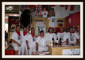 Representantes de Lodosa por el Toro en Benavente.